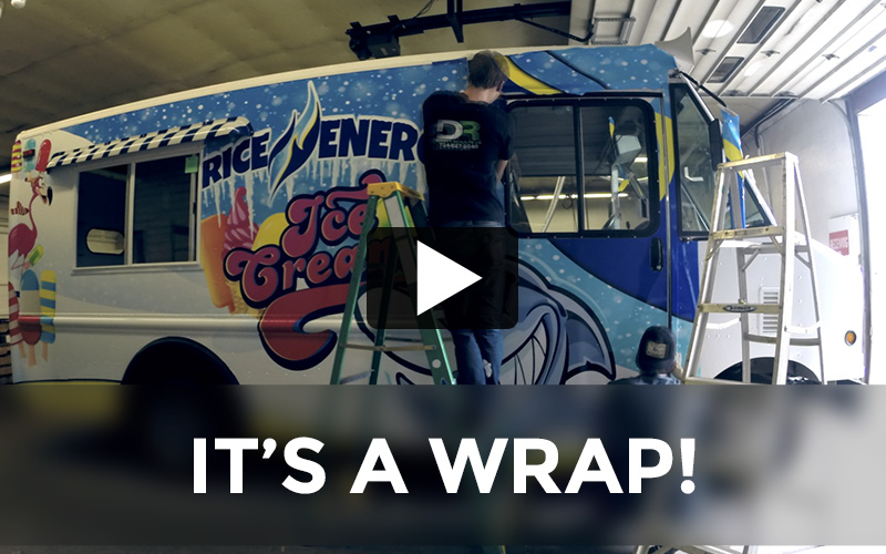 Rice Energy Ice Cream Truck:  It's a Wrap!
